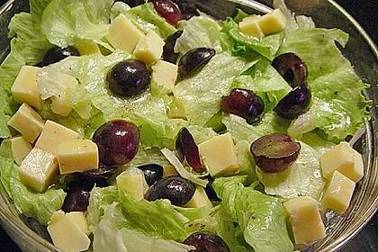 Käse - Trauben - Salat 7