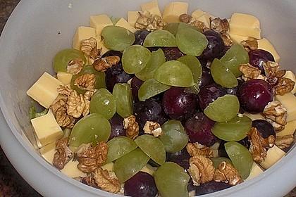 Käse - Trauben - Salat 11