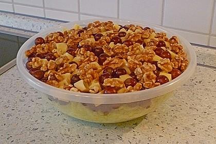 Käse - Trauben - Salat 16