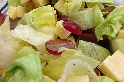 Käse - Trauben - Salat 4