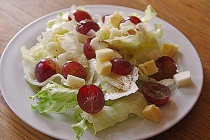 Käse - Trauben - Salat 1