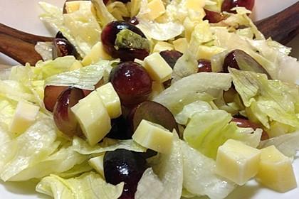 Käse - Trauben - Salat 3