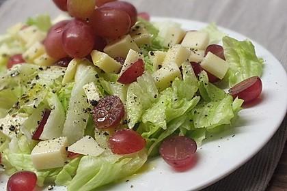 Käse - Trauben - Salat 2