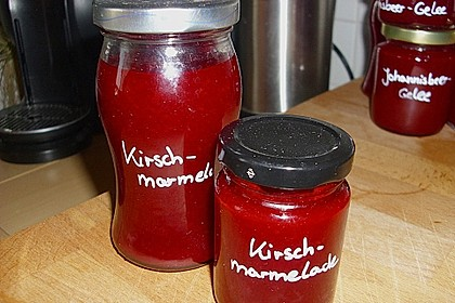 Kirschmarmelade 4