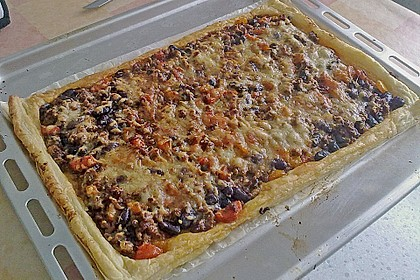 Chili con carne - Pizza 16