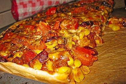 Chili con carne - Pizza