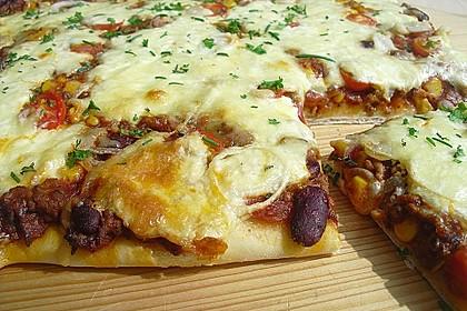 Chili con carne - Pizza 1