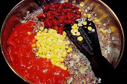 Chili con carne - Pizza 15
