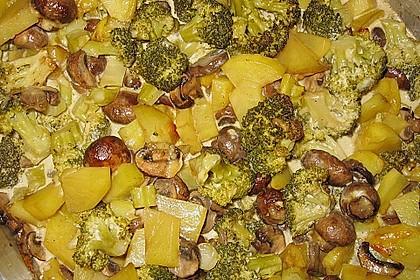Brokkoli-Pilz-Auflauf