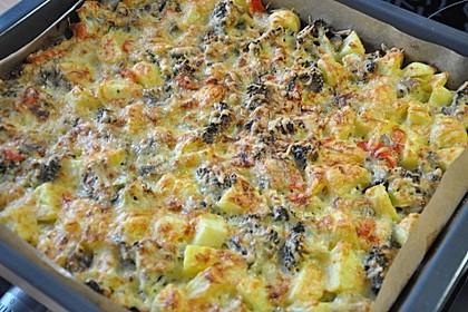 Brokkoli-Pilz-Auflauf 1