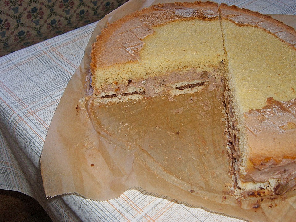 Kuchen prinzenrolle kirschen
