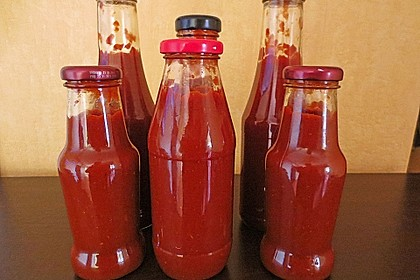 Selbst gemachter Ketchup 13