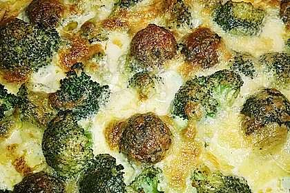 Hack - Kartoffel - Brokkoli - Auflauf 4
