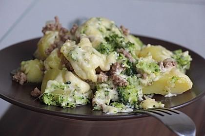 Hack - Kartoffel - Brokkoli - Auflauf 2