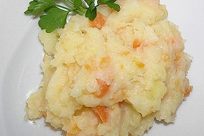 Kartoffel - Karotten - Pastinaken - Püree 4