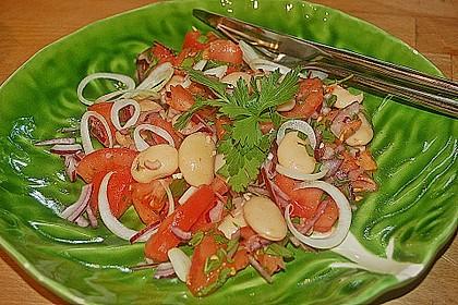 Bohnen / Tomatensalat 1