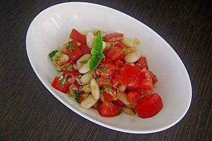 Bohnen / Tomatensalat 0