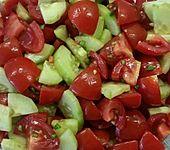 Gurken - Tomatensalat (Bild)