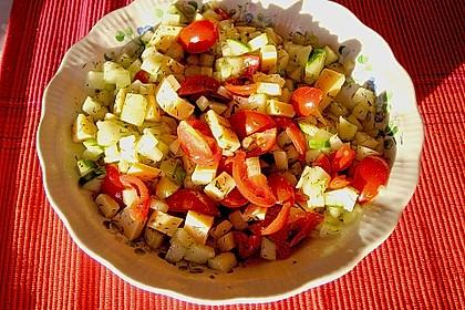 Gurken - Tomatensalat 34