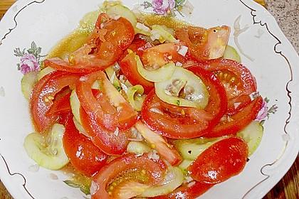 Gurken - Tomatensalat 24