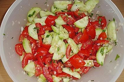 Gurken - Tomatensalat 31