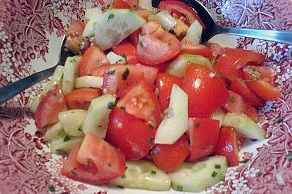 Gurken - Tomatensalat 46