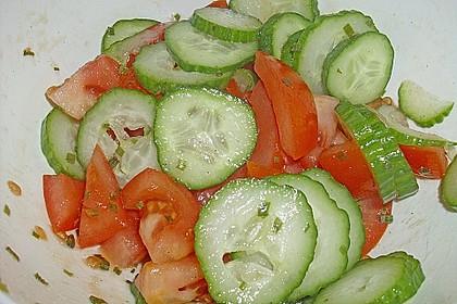 Gurken - Tomatensalat 38