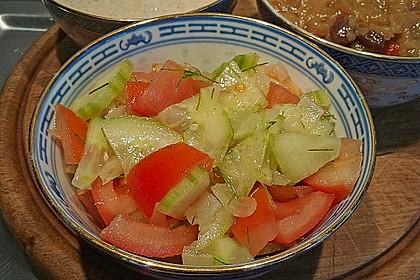 Gurken - Tomatensalat 33