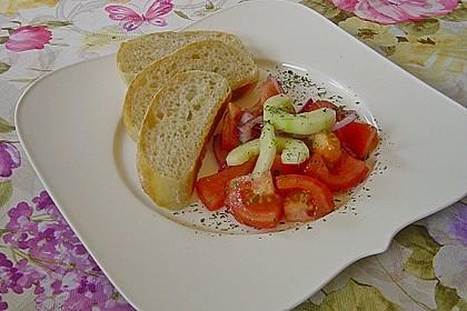 Gurken - Tomatensalat 20