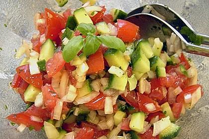 Gurken - Tomatensalat 36