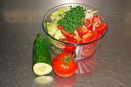 Gurken - Tomatensalat 19