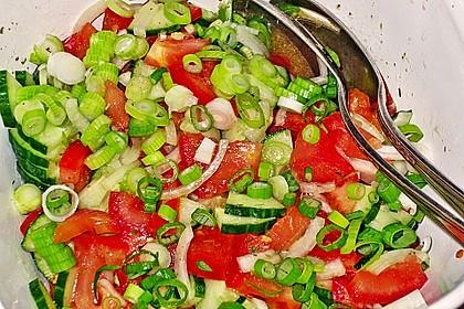Gurken - Tomatensalat 8