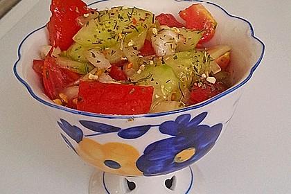 Gurken - Tomatensalat 40