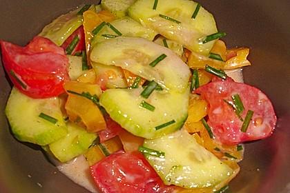 Gurken - Tomatensalat 44