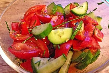 Gurken - Tomatensalat 29