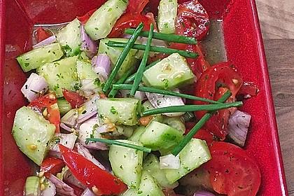 Gurken - Tomatensalat 22