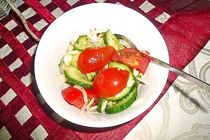 Gurken - Tomatensalat 35