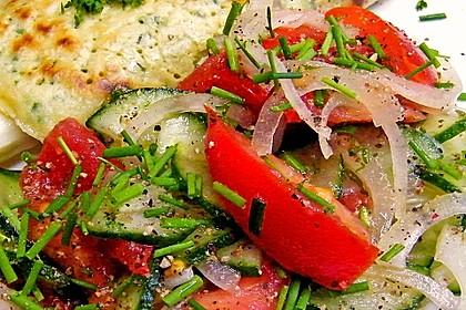 Gurken - Tomatensalat 23