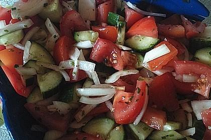 Gurken - Tomatensalat 25