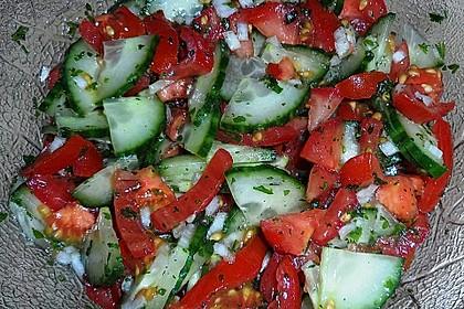 Gurken - Tomatensalat 26