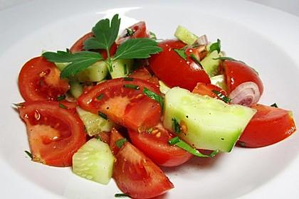Gurken - Tomatensalat 13