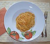 Spaghetti mit Tomaten - Wodka - Sauce (Bild)