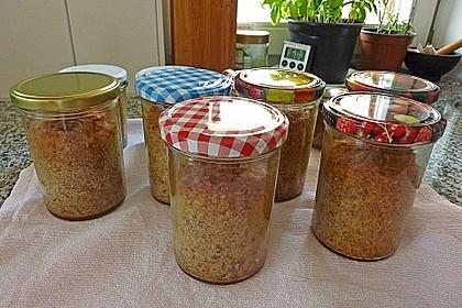 Möhrenkuchen im Glas 7