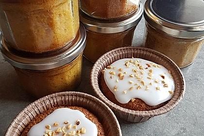 Möhrenkuchen im Glas 3