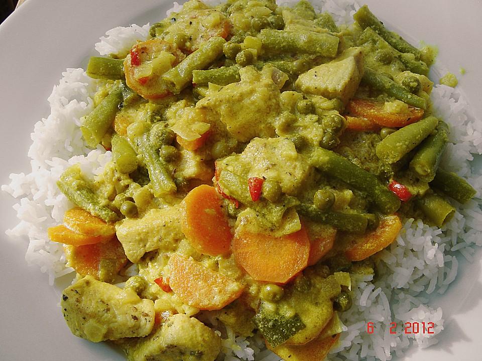 Curry mit Huhn und Joghurt von baermel | Chefkoch.de