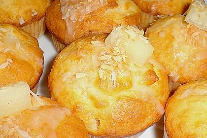 Ananas - Kokos - Muffins 19