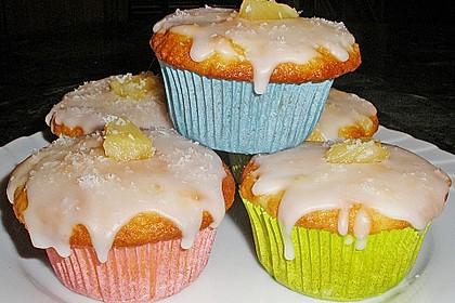 Ananas - Kokos - Muffins 8