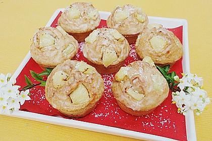 Ananas - Kokos - Muffins 3