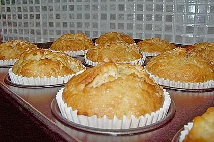 Ananas - Kokos - Muffins 20