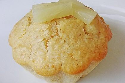 Ananas - Kokos - Muffins 12
